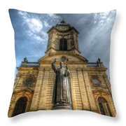 Birmingham Cathedral 1.0 Throw Pillow