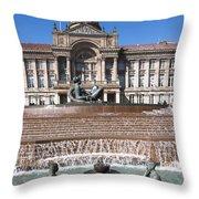Birmingham Council Building Throw Pillow