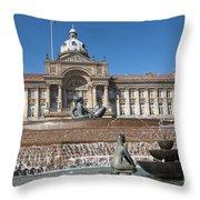 Birmingham Landmark Throw Pillow