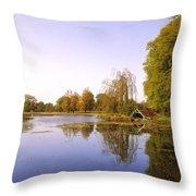 Birr Castle Demesne, Co Offaly, Ireland Throw Pillow
