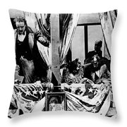 Birth Of A Nation, 1915 Throw Pillow