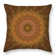 Birthing Mandala 18 Throw Pillow