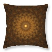 Birthing Mandala 19 Throw Pillow