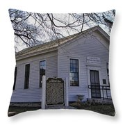 Birthplace Of The Gop Throw Pillow