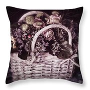 Bittersweet Memories Throw Pillow