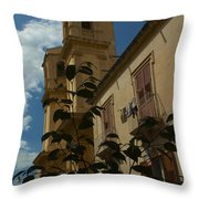 Bla Bla Throw Pillow