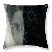 Black And White And Grey Throw Pillow