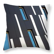 Black And White Throw Pillow by Carlos Caetano