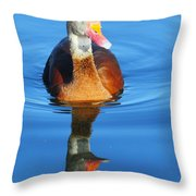 Black-bellied Whistling-duck Throw Pillow