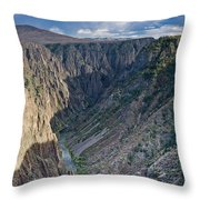 Black Canyon Afternoon Throw Pillow