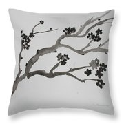 Black Cherry  Throw Pillow