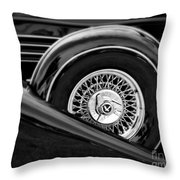 Black Classic 2 Throw Pillow