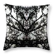 Black Mold Throw Pillow