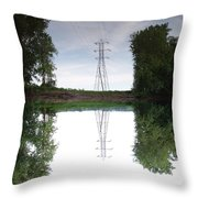 Black River Dadville Ny Throw Pillow