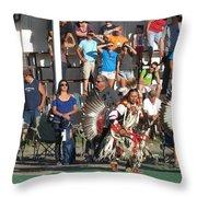 Blackfeet Pow Wow 01 Throw Pillow