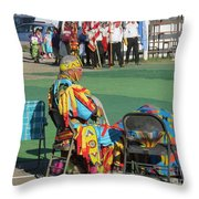 Blackfeet Pow Wow 02 Throw Pillow