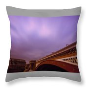 Blackfriars Bridge Throw Pillow