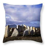 Blacksod Point, Co Mayo, Ireland Stone Throw Pillow