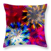 Blade In Pink Throw Pillow
