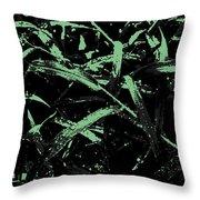 Blades Of Grass Throw Pillow