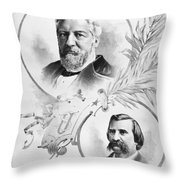 Blaine: Election Of 1884 Throw Pillow