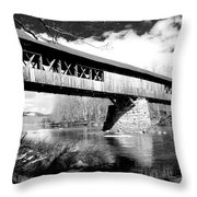 Blair Bridge Throw Pillow