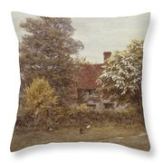 Blake's House Hampstead Heath Throw Pillow