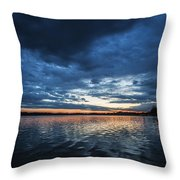 Blanket Of Blue Throw Pillow