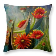 Blankets In The Morn Throw Pillow