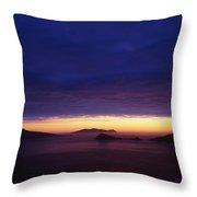 Blasket Islands, Co Kerry, Ireland Throw Pillow