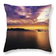 Blasket Islands, Dingle Peninsula, Co Throw Pillow