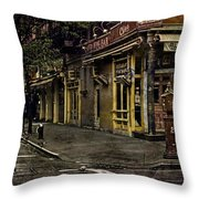 Bleeker Street Seven Am Throw Pillow