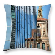 Blending Architecture  Throw Pillow