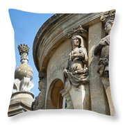 Blenheim Palace Detail Throw Pillow