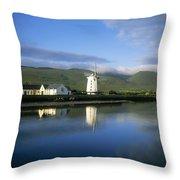 Blennerville Windmill, Blennerville, Co Throw Pillow