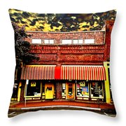 Blind Georges Fantasy Throw Pillow