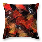 Blind Love Slaves Throw Pillow