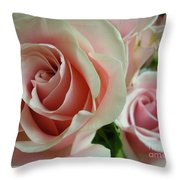 Bliss Closeup Throw Pillow