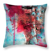 Blood And Stones  Throw Pillow