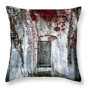 Blood Ivy Throw Pillow
