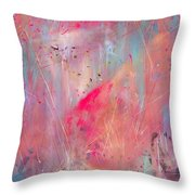 Blood Of The Lamb Throw Pillow