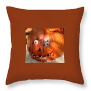 Bloody Pumpkin Throw Pillow
