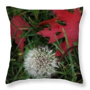 Blow Away Throw Pillow