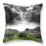 Blow Hole 2 Throw Pillow