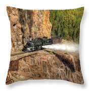 Blowdown Throw Pillow