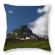 Blowing The Clouds Away Throw Pillow