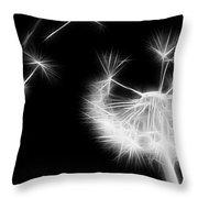 Blown Away - Sparklized Throw Pillow