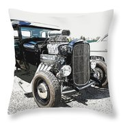Blown Coupe Throw Pillow