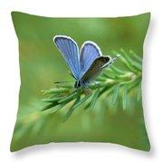 Blue 5 Throw Pillow