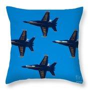 Blue Angels 10 Throw Pillow